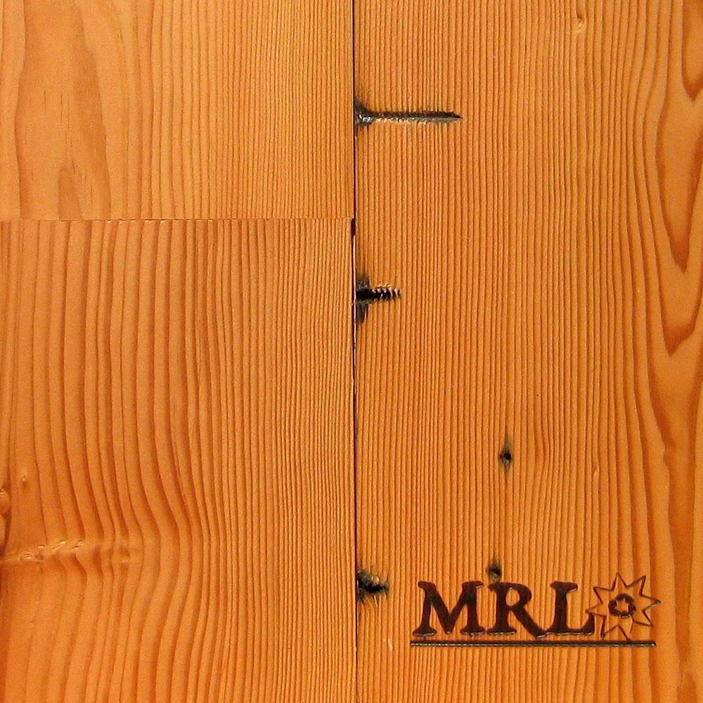 A photo of our reclaimed Fir custom flooring.