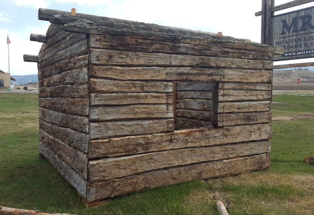 An image of a cabin that is available for purchase.